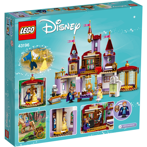 LEGO Disney Princess Belle And The Beast's Castle 43196