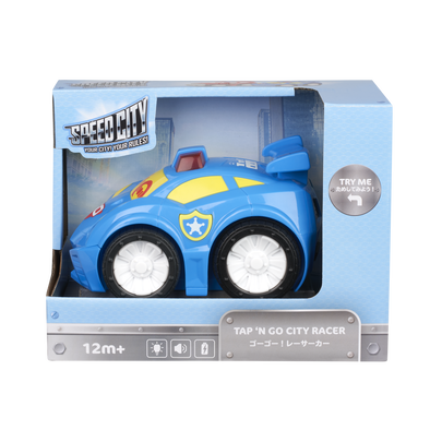 Speed City Junior Tap 'N Go City Racer Blue