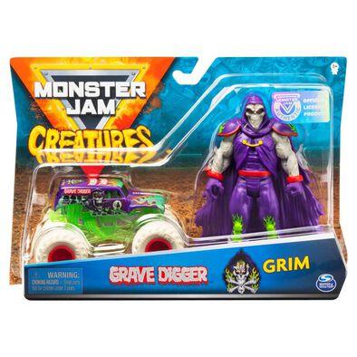 Monster Jam 1:64 Creatures Figure - Assorted