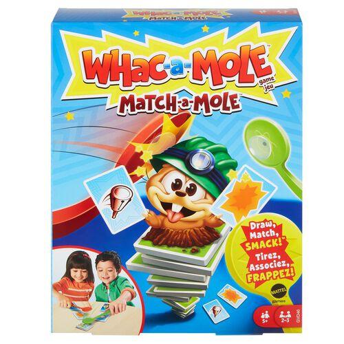 Whac-A-Mole Match-A-Mole