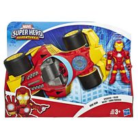 Playskool Heroes Marvel Super Hero Adventures Figure And Vehicle - Assorted