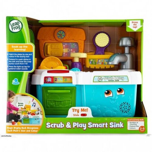 LeapFrog Scrub and Play Smart Sink