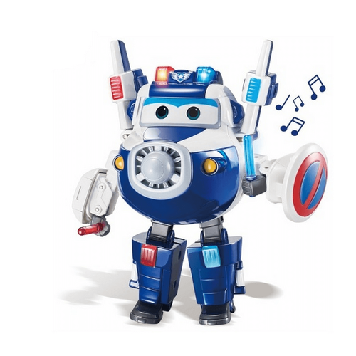 Super Wings Deluxe Transforming Supercharged Paul
