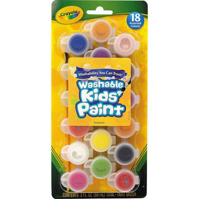 Crayola Kids Poster Paints With Brush