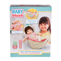 Baby Blush Carry With Me Sweetheart Doll Set