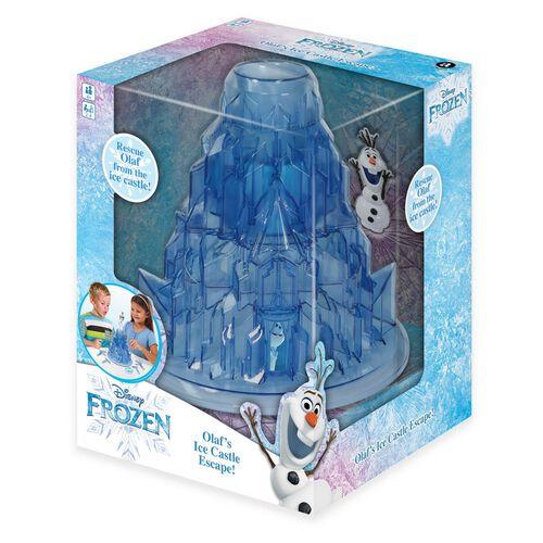 Frozen Olaf's Ice Castle Escape