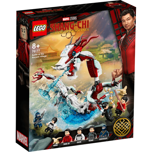 LEGO Super Heroes Battle At The Ancient Village 76177