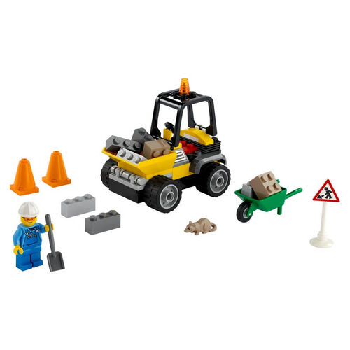 Lego City Great Vehicles Roadwork Truck 60284