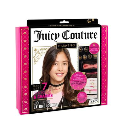 Make It Real Juicy Couture Chokers & Charms