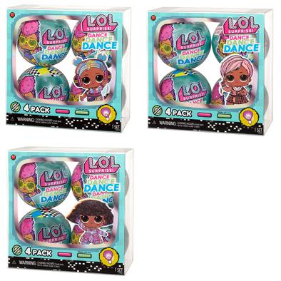 L.O.L. Surprise! Dance Doll 4 Pack