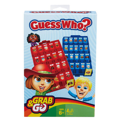 Guess Who Grab & Go Travel Game