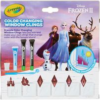 Crayola Disney Frozen 2 Color Changing Window Clings