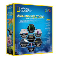 National Geographic Amazing Reactions Chemistry Set