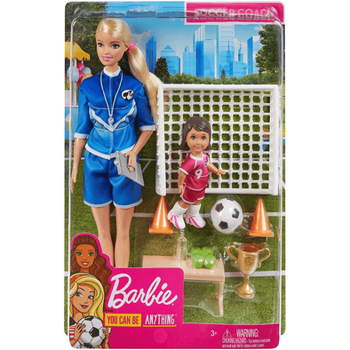 Barbie Careers Soccer Coach