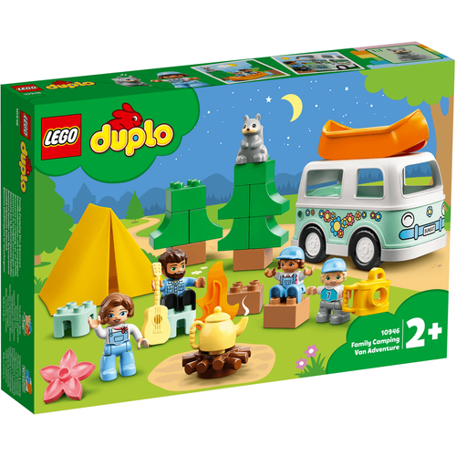 LEGO Duplo Town Family Camping Van Adventure 10946