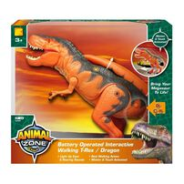 Animal Zone Battery Operated Interactive Walking T-Rex