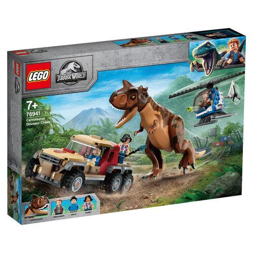 LEGO Jurassic World Carnotaurus Dinosaur Chase 76941