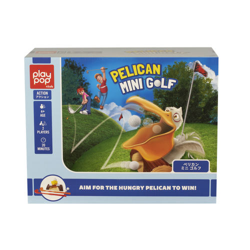 Play Pop Pelican Mini Golf Action Game
