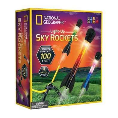 National Geographic Light Up Sky Rockets