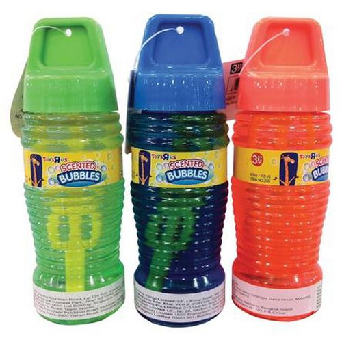 Geoffrey 4Oz Scented Bubbles Solution - Assorted