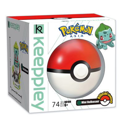Qman Keeppley Pokémon Mini Bulbasaur