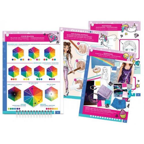 Make It Real Fashion Design Sketchbook: Digital Dream