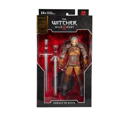 DC McFarlane Gold Label The Witcher 7 Inch Geralt