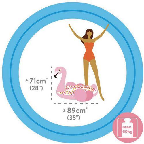Intex Glitter Flamingo Tube