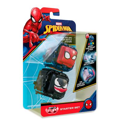 Marvel Spider-Man Battle Cube Spider-Man vs. Venom 2 Pack