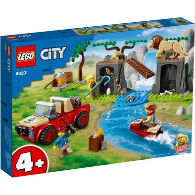 LEGO City Wildlife Rescue Off-Roader 60301