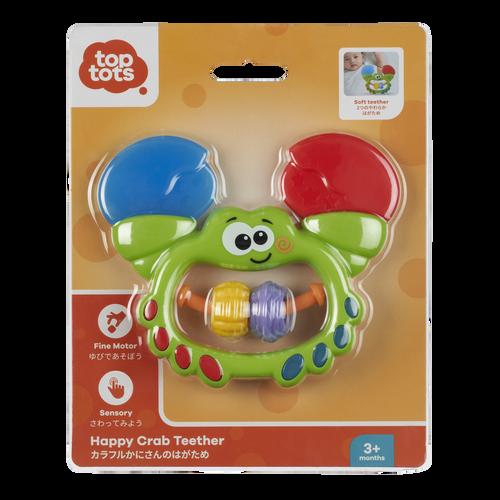 Top Tots Happy Crab Teether