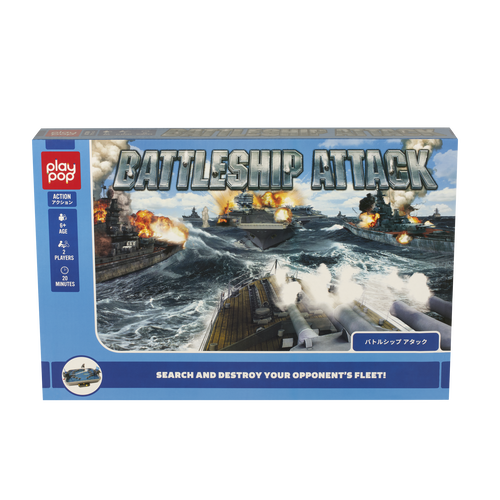 Play Pop Battleship Attack Action Game