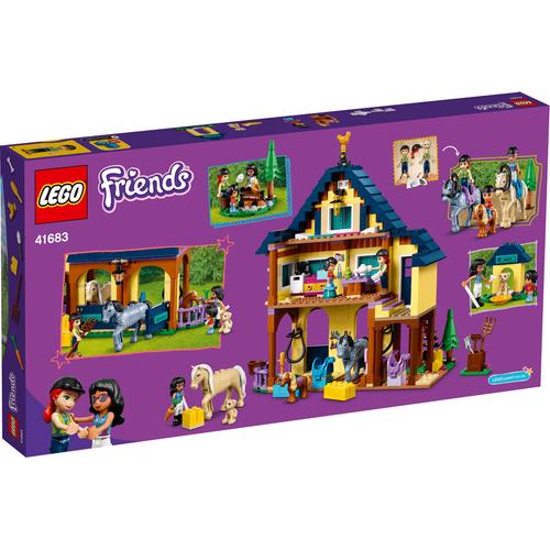 LEGO Friends Forest Horseback Riding Center 41683