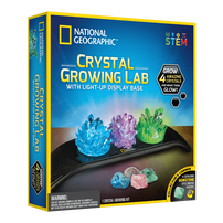 National Geographic Light Up Crystal Growing Kit