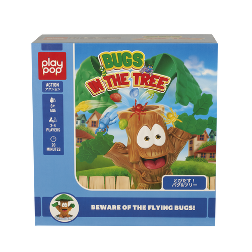 Play Pop Bugs In The Tree Action Game