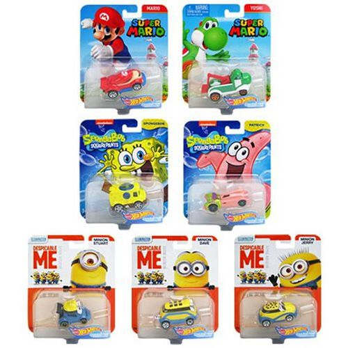Hot Wheels Entertainment Character Car Series - Assorted