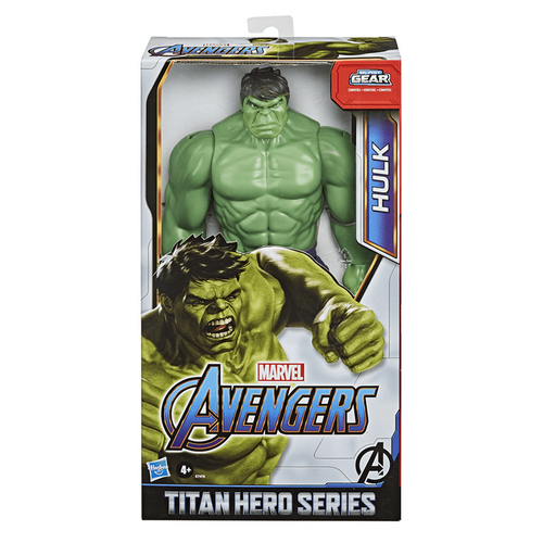 Marvel Avengers Titan Hero Series Blast Gear Deluxe Hulk