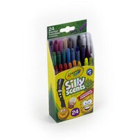 Crayola Scents 24 Colours Mini Twistable Crayons