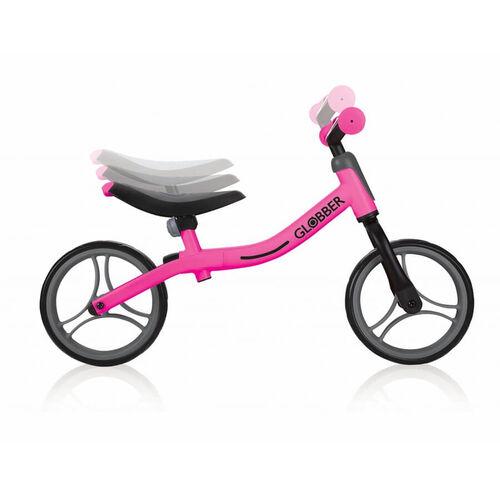 Globber Go Bike Black/Neon Pink Balance Bike
