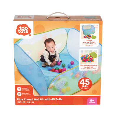 Top Tots Play Zone & Ball Pit With 45 Balls