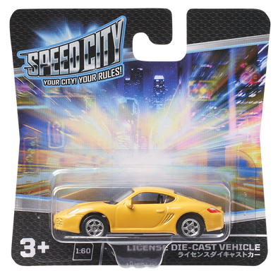 Speed City License Diecast vehicle - Assorted