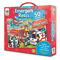 The Learning Journey Jumbo Floor Puzzle Emergency Rescue