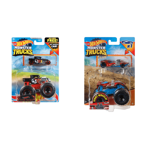 GWP Hot Wheels Monster Truck 1:64 Diecast - Assorted