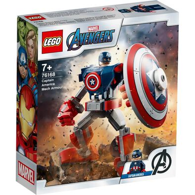 LEGO Marvel Avengers Captain America Mech Armour 76168