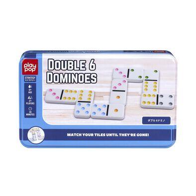 Play Pop Double 6 Dominoes