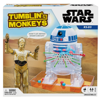 Star Wars Tumblin' Monkeys