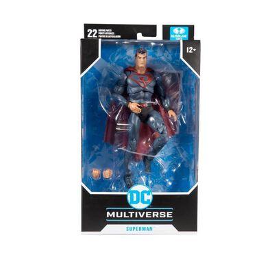 DC Multiverse 7 Inch Red Sun Superman