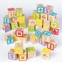 Universe of Imagination Imaginarium 40 Piece Alphabet Blocks
