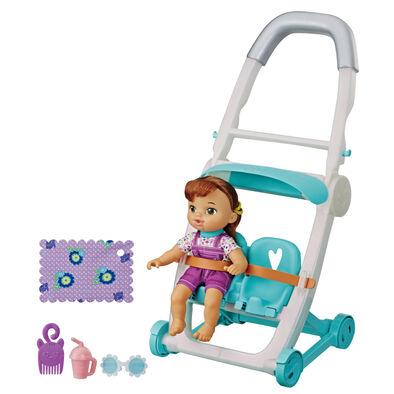 Baby Alive Littles Rock'n Kick Stroller - Assorted