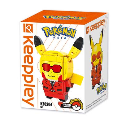 Qman Keeppley Pokémon Kuppy Pikachu Team Flare
